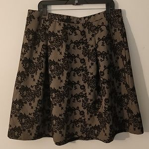 Dress Barn Floral Skirt